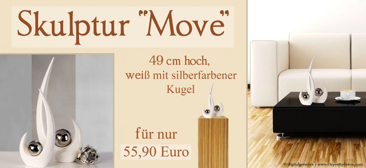 "Skulptur ""Move"""