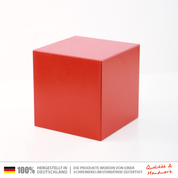 sitzwuerfel rot 30 x 30 cm universal sitzw rfel. Black Bedroom Furniture Sets. Home Design Ideas